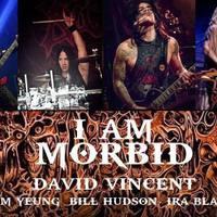 David Vincent és az I Am Morbid - Május végén Budapesten