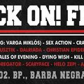 Crazy Lixx, Sex Action, Pandora's Box (IV. Rock On! Fest) @ Budapest, Barba Negra Track, 2017.09.02.