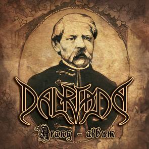 Dalriada arany-album CD borító/cover