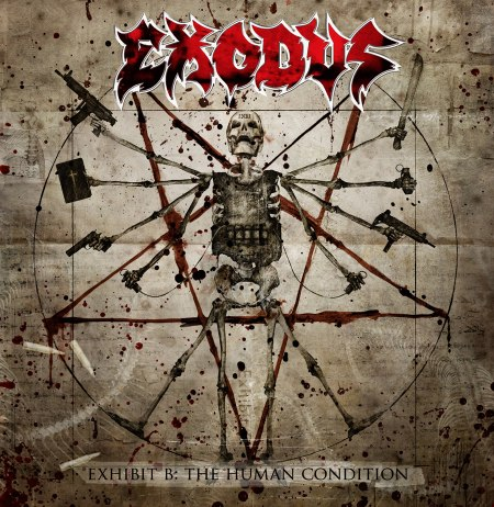 Exodus - Exhibition B: The Human Condition album cover
