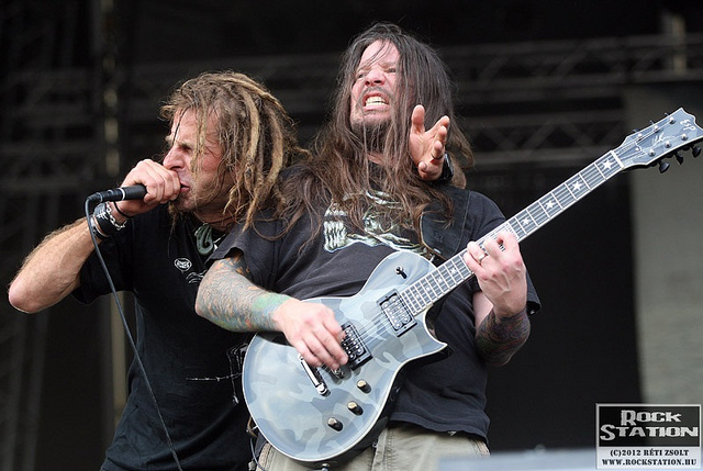 Brutál metál: Lamb Of God & Devildriver @ Majestic Music Club, Pozsony 2012.06.06.
