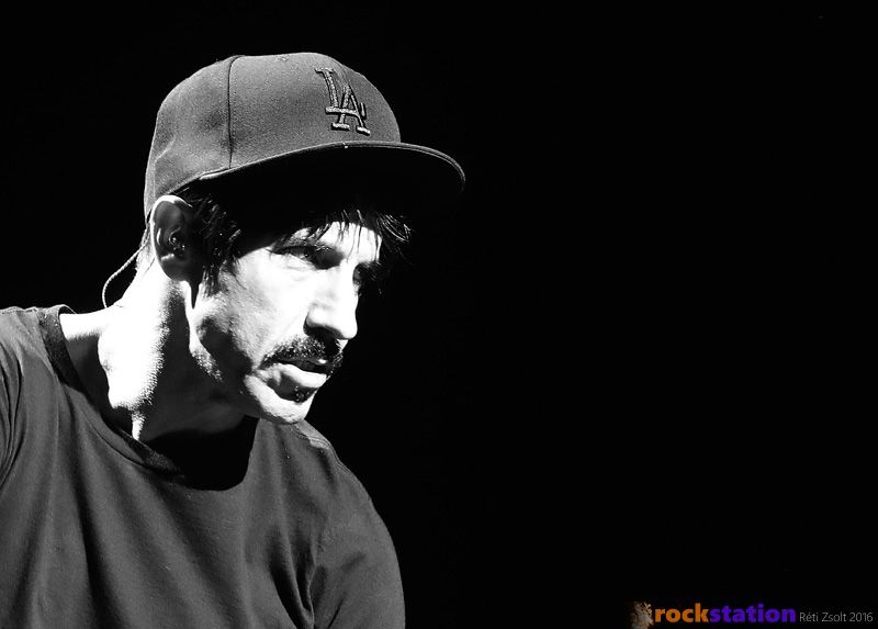 Anthony Kiedis a Red Hot Chili Peppers-szel két koncertet is adott a Budapest SportArénában