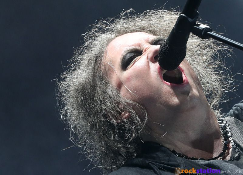 Robert Smith és a The Cure is eljött 2016-ban Budapestre