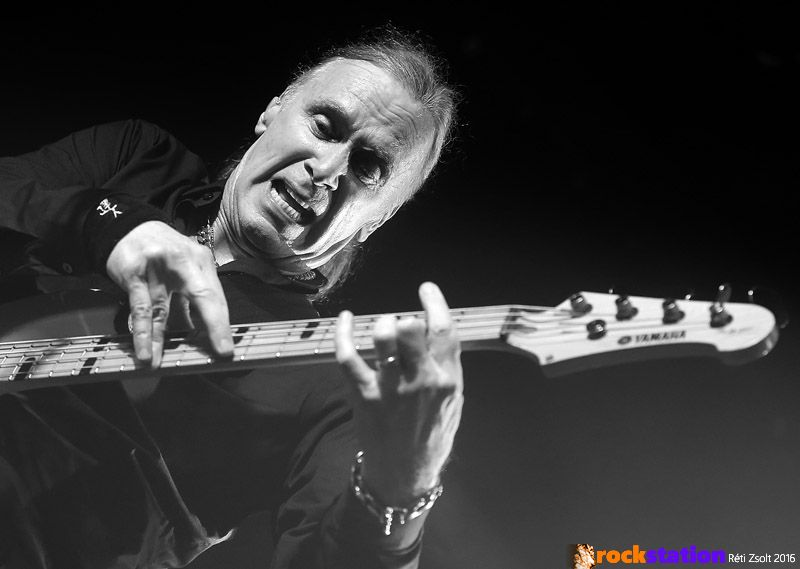 Billy Sheehan basszusgitár-fenomén a The Winery Dogs Barba Negrás koncertjén