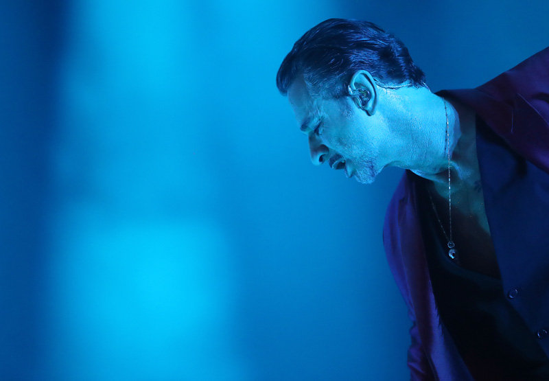 Dave Gahan / Depeche Mode @ Groupama Aréna, május 22.