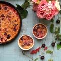 Harapj bele a nyárba! Tejes pite cseresznyével és ribizlivel