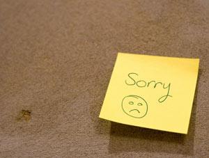 Romantika, bocsánatkérés