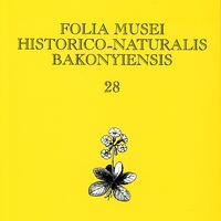 Megjelent a Folia Musei Historico-Naturalis Bakonyensis 28. száma