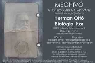 Herman Ottó Biológiai Kör - Bagi István: Föld alatti gombavilág - szarvatlan és szarvasgombák nyomában