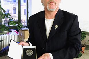 Frivaldszky Imre Emlékplakett ezüst fokozat 2013: Sár József