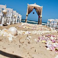 Álomesküvő - napsütés, homok, tengerpart