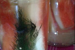 Változatok görögdinnyehéjra 2.: Savanyított görödinnyehéj