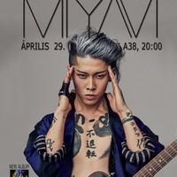 MIYAVI - Áprilisi koncert az A38 születésnapján
