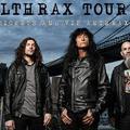 ANTHRAX - Lemondták az egész turnét, nem jönnek a FEZENre!
