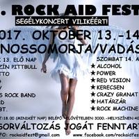 II. ROCK AID FEST - Ősszel újra összefognak a rockerek Bertalan Vilikéért!