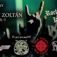 Rockzenével az ajkai kórházért - IronBird, Red Vision, KerecseN, Ayers Rock