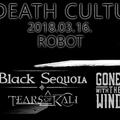 II. DEATH CULTURE - Modern death/core est a budapesti Robotban