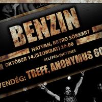 BENZIN - Koncert a hatvani Retróban! | Vendég: Treff & Anonymus60