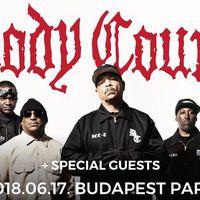 BODY COUNT - Magyarországra jön Ice-T és csapata