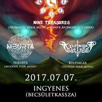 NINE TREASURES - Kínai-mongol folk metal a Dürerben