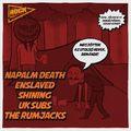 ROCKMARATON - Jön a Napalm Death, az Enslaved és a Shining
