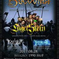 DÜRER KERT - Három kontinens négy folk metal zenekara érkezik augusztus 28-án!