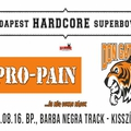 PRO-PAIN - Augusztus 16-án a Barba Negra Trackben