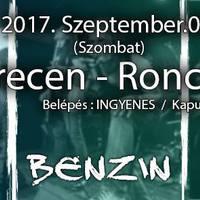 RONCSBÁR - Ingyenes Zord, Benzin és Bearfood koncert Debrecenben