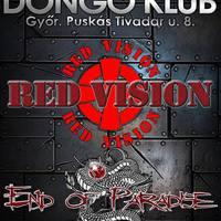 END OF PARADISE és RED VISION  - Közös koncert a győri Dongóban