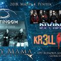CRAZY MAMA - Fusion Night május 4-én Budapesten