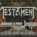 TESTAMENT - Az év thrash metal bulija november 18-án a Barba Negrában
