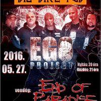 EGO PROJECT | END OF PARADISE - Ingyenes koncert a Big Bike Pubban