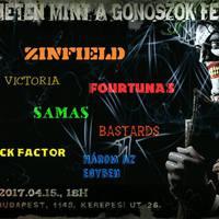HETEN MINT A GONOSZOK - XI. alkalommal is megrendezésre kerül a fesztivál!