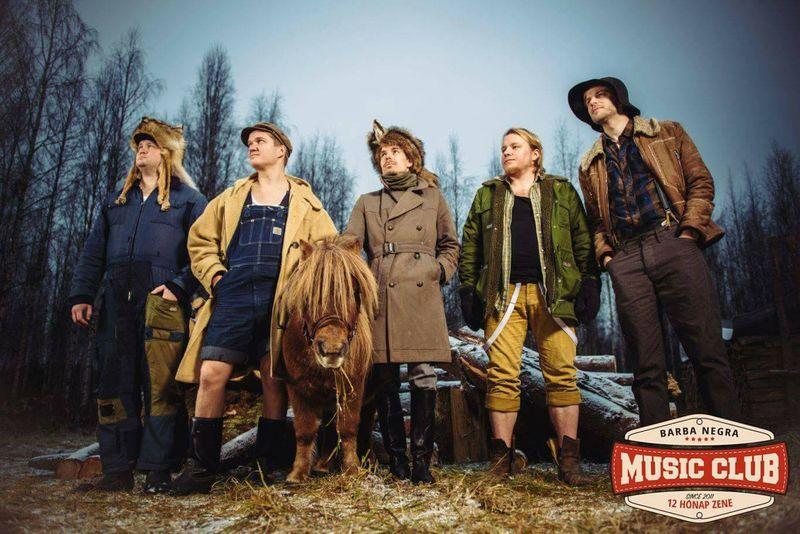 STEVE 'N' SEAGULLS – Nagyot szólt a finn parasztmetal a Barba Negrában