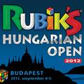Rubik's Hungarian Open 2012