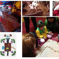 Holdújévi mongol játszóház / Шагайн тогломны өдөрлөг