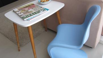Retró asztalka végre átalakult