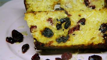 Túrós bulgur desszert, aszalványokkal megspékelve