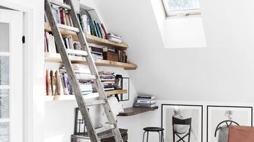 Egy dán asztalos lélegzetelállító otthona