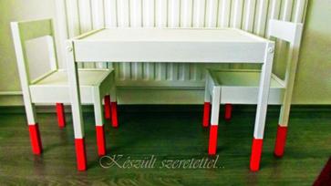 IKEA hack ötletek: LÄTT asztalka és szék átalakítás