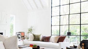 Eklektikus családi otthon Los Angelesben