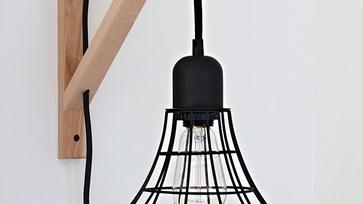 Ikea hack ötletek: steklámpából olvasólámpa