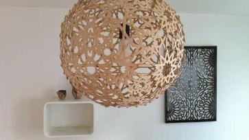 Keleties ihletésű DIY lámpa ötlet