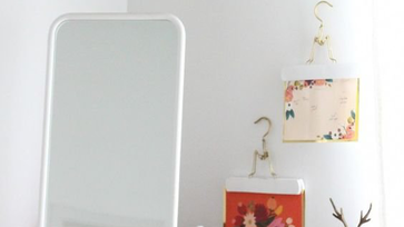 IKEA hack ötletek: Foto lámpa