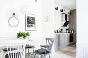 Fantasztikus svéd lakás egy közel 100 éves házban