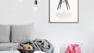 Nyomtassunk: Kedvenc széket a falra