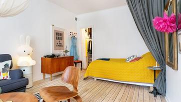 Kicsi, de igazán stílusos svéd lakás