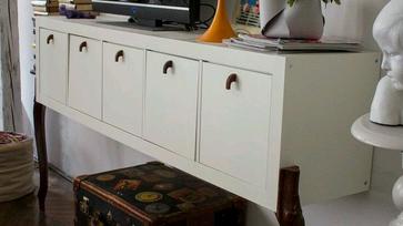 IKEA hack ötletek: Expedit és a neobarokk láb