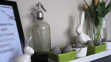 Tavaszváró húsvéti dekoráció