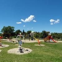 Sajóecseg közösségi tere 2016. júniusban